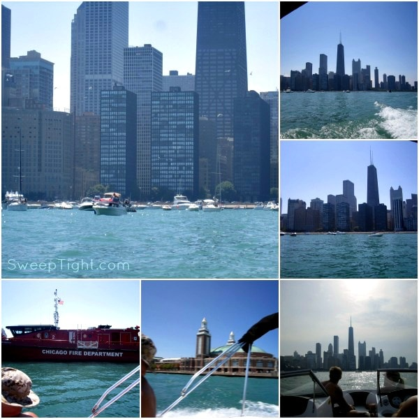 Chicago River and Lake Michigan Boating #DiscoverBoating
