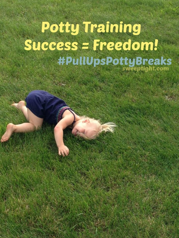 Freedom Success with Potty Training #PullUpsPottyBreaks