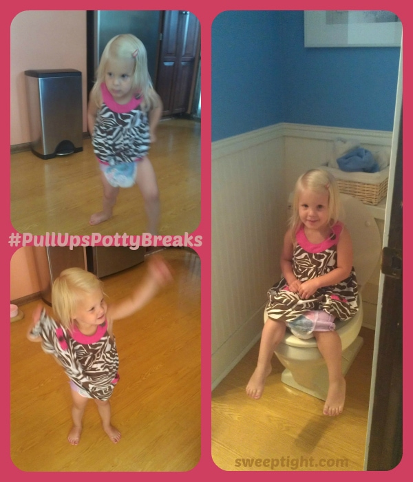 #PullUpsPottyBreaks Success with Potty Training