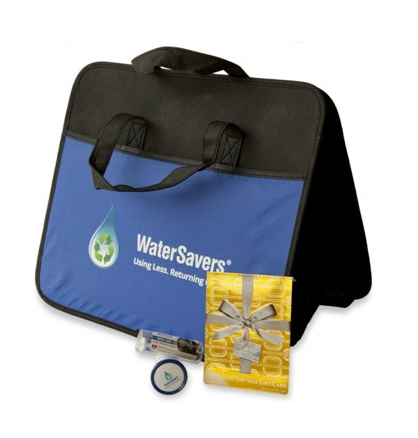 conserve water with watersavers