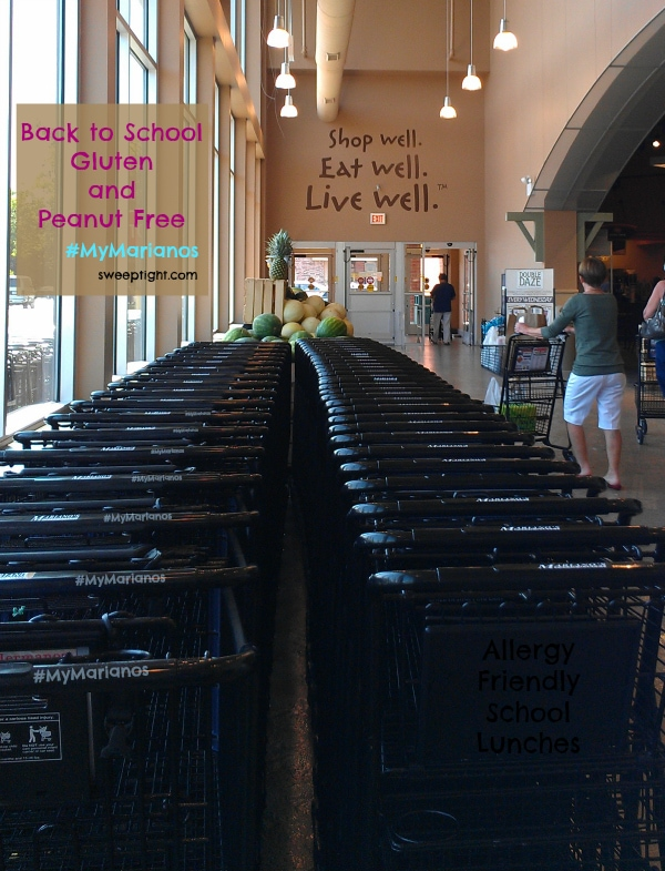 back to school gluten free lunches at #MyMarianos #shop