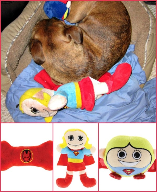 dc comic pet toys