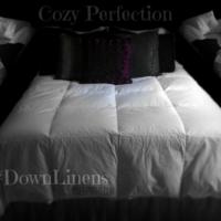 All season comforter #DownLinens #spon