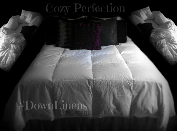 All season comforter #DownLinens #spon