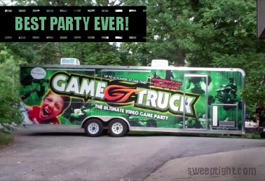 best birthday party ever GameTruck