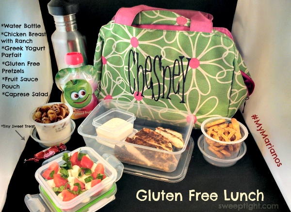 Back to School Gluten Free Lunches at Marianos