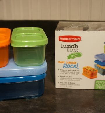 Rubbermaid LunchBlox Kids Make Lunches Rock