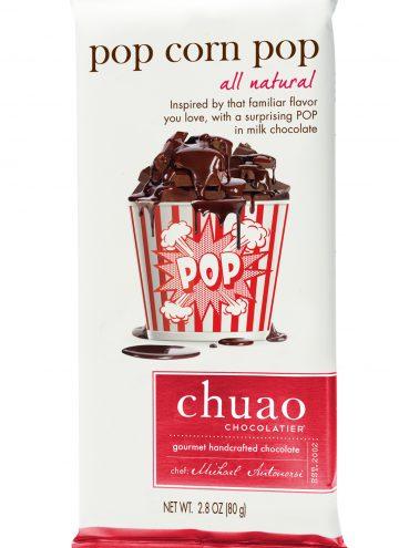 Chuao Chocolatier New Pop Corn Pop Bar