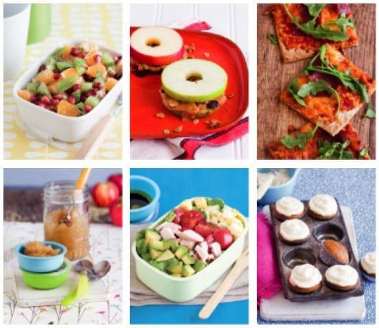Healthy Recipe Ideas for School Lunch