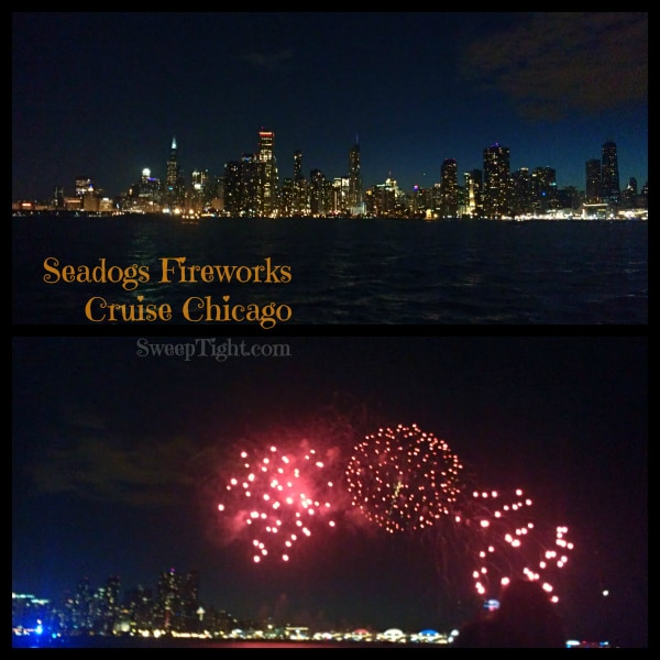 Seadogs Fireworks Cruise Chicago #spon