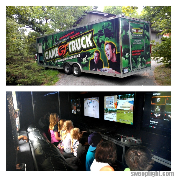 the GameTruck best party EVER
