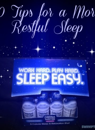 10 Tips To Get More Restful Sleep