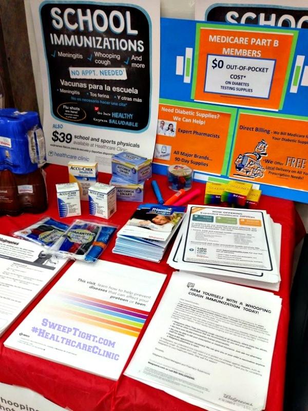 walgreens healthcare clinics
