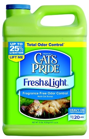 Cat's Pride Fresh and Light Fragrance Free