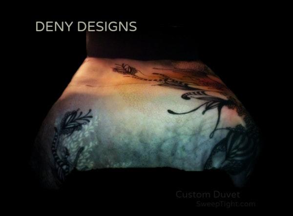 DENY Designs custom duvet cover