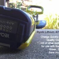 RYOBI Lithium Battery operated tools #sponsored