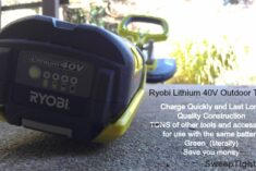 RYOBI Lithium Battery operated tools #sponsored