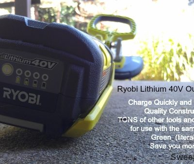RYOBI Lithium 40V Battery Operated Weed Eater