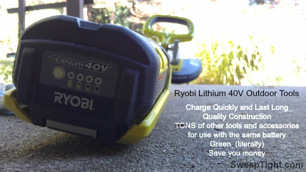 RYOBI Lithium Battery operated tools