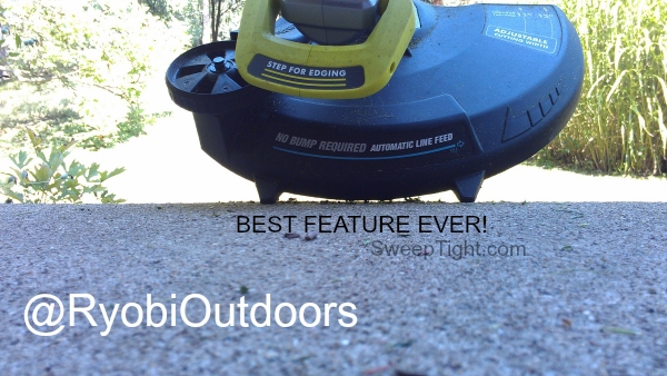 RYOBI Outdoors Products all run on same battery #sponsored