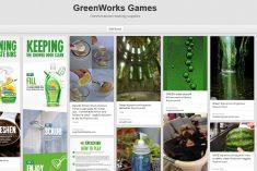#greenworksgames pinboard