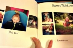 DIY photobook from Shutterfly #sponsored
