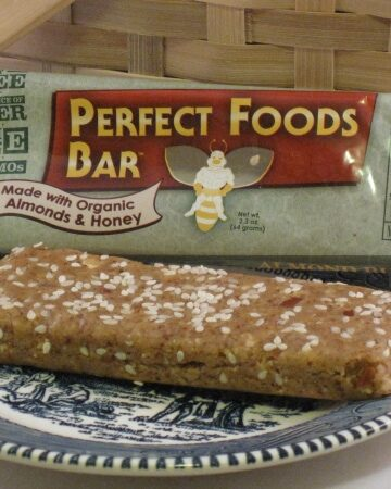 Gluten Free Perfect Foods Bar Review