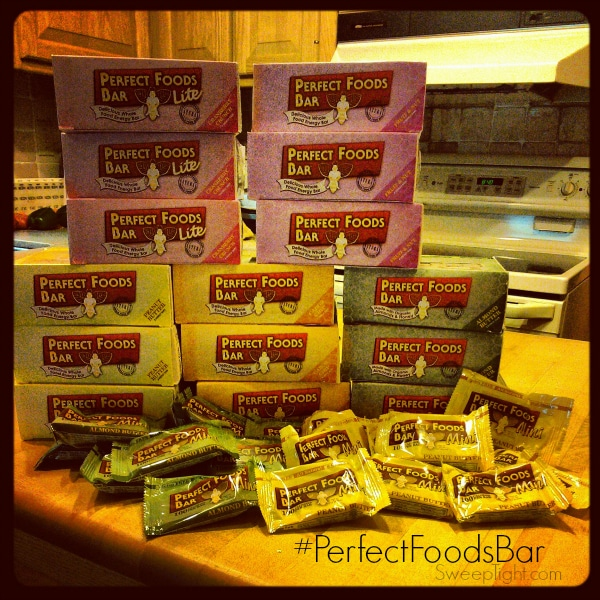 Gluten Free Meal Replacement Bars #PerfectFoodsBar