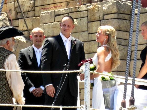 pirate ship wedding