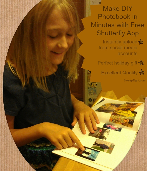 DIY Shutterfly photobook #sponsored