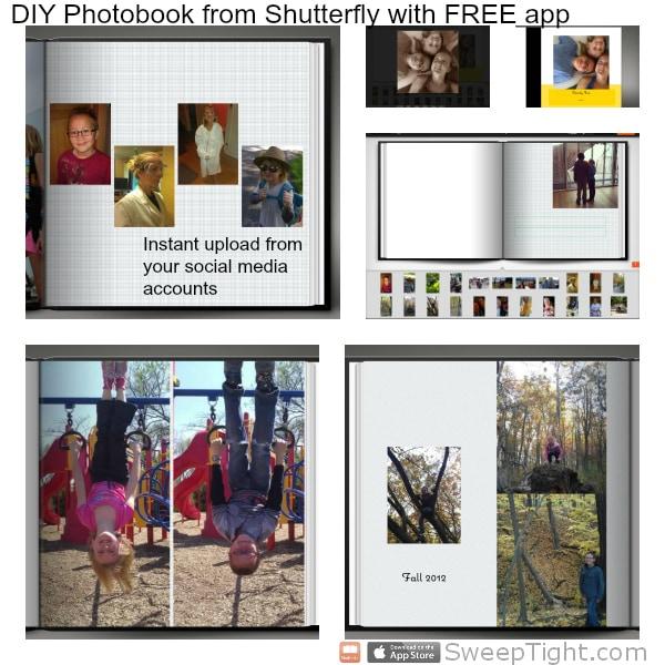 DIY photobook from Shutterfly #sponsored