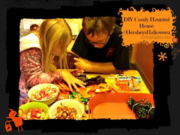 DIY Halloween Candy House #HersheysHalloween