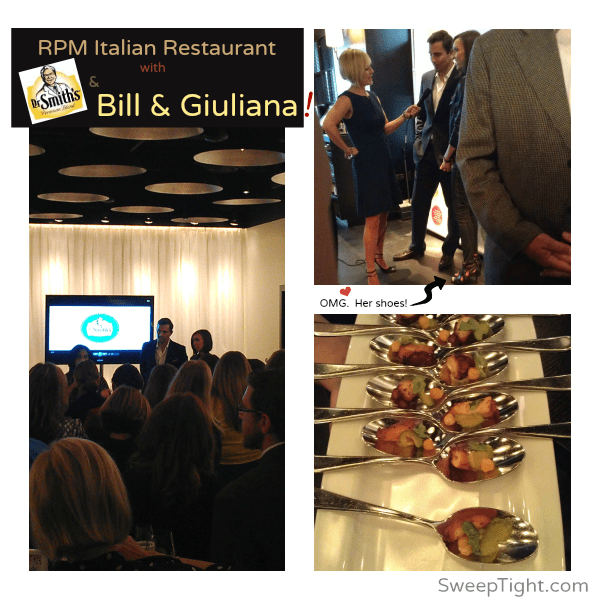 Celebrities, Bill and Giuliana Rancic at their Italian Restaurant RPM