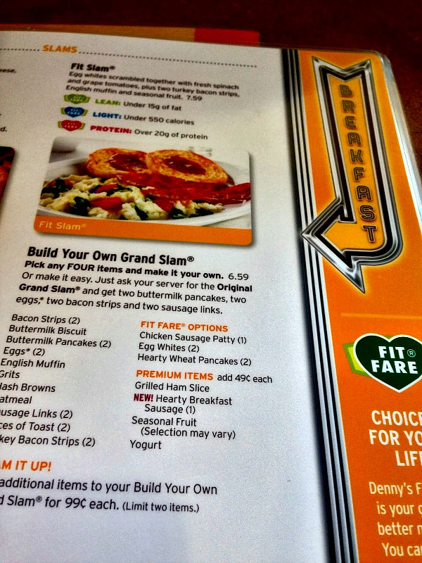 Affordable Meals for the Whole Family at Denny's
