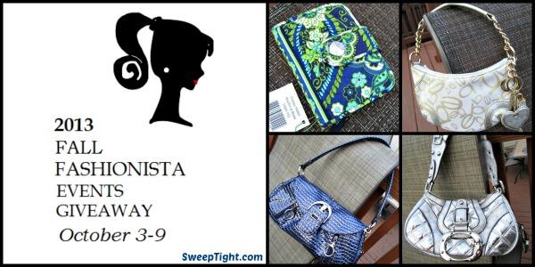 Fall Fashionista Event Designer Handbag