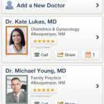 Find and Organize Doctors with the Healthgrades App