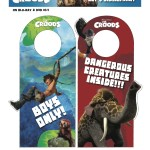 the croods door hangers