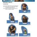 the croods finger puppets