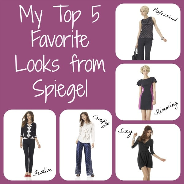 My Top 5 Favorite Looks from Spiegel