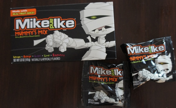 Mike and Ike Halloween Treats