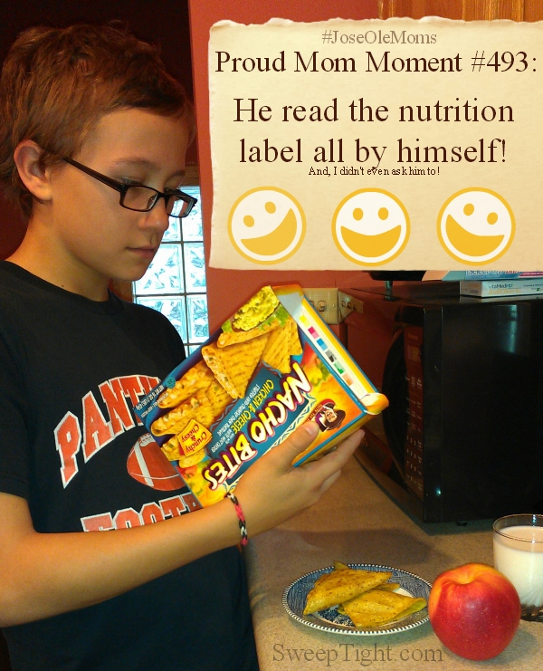 Proud #JoseOleMoms After School Snacks #sponsored