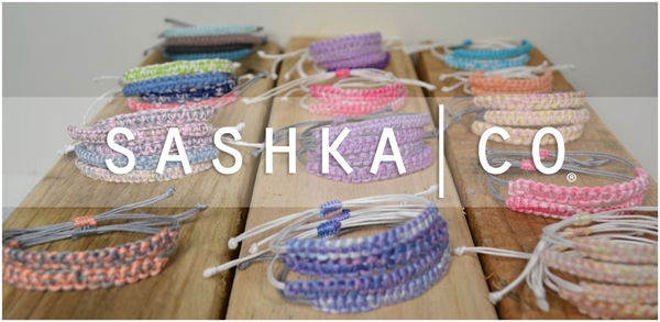 Bracelets Giving Back with Shaska Co