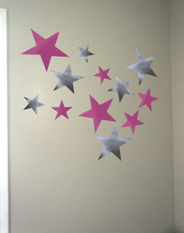 Teen Décor with Vinyl Wall Decals