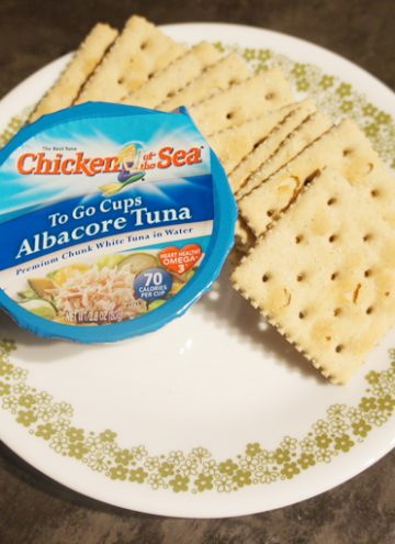 Make Lunch Easy with Tuna To Go Cups