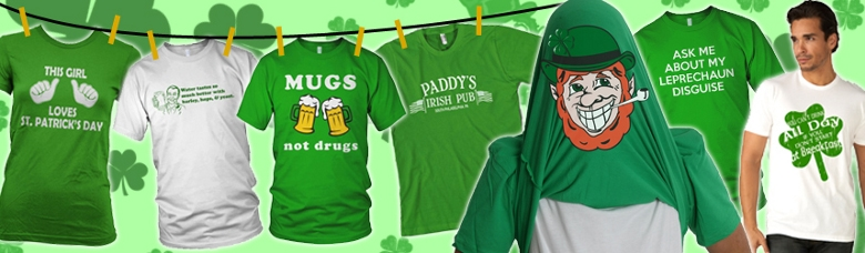 St. Patrick's Day Funny T-shirts