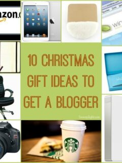 10 Christmas Gift Ideas to Get a Blogger