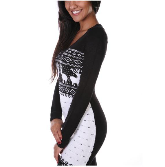 chrismas sweater dress