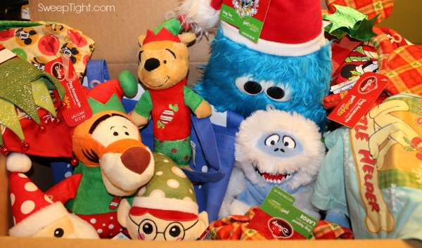 Holiday box of toys