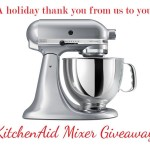 Recipe Round Up and KitchenAid Mixer