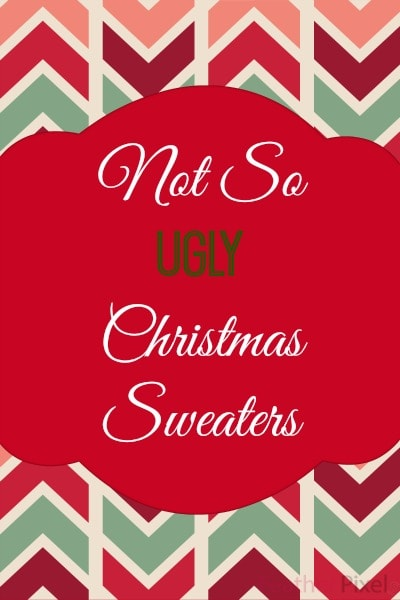 No So Ugly Christmas Sweaters